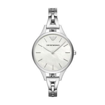 アルマニ(EmporリオARmani)女史腕時計レジャー円形ファッション鋼帯クレン娘表AR110 54