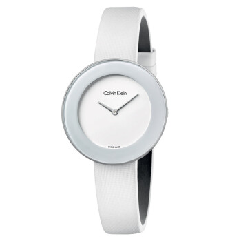 CK卡文クリル腕時計ChICシリーズ白色簡約クローズ時計K 7 N 23 TK 2