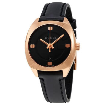 GG 2570 Black Dial女性腕時計YA142509