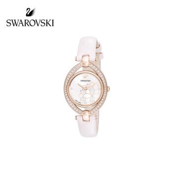 SWAAROVSKIスワロフスキー・Steella腕時計の艶やかで魅力的な本革時計の彼女へのプレゼント5452507