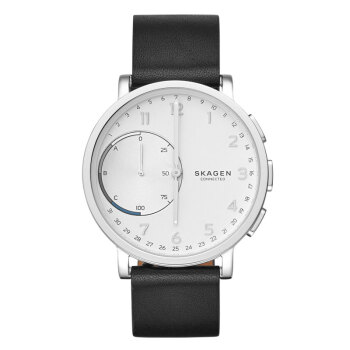 Ska gen詩格恩時計ファンオーミット時計クレット時計クレンデレーディーの男性ファン腕時計シンプルなドレンドの皮の時計ST 110 1