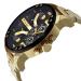 デサイ(Diesel)腕時計男性THEDADDIEシリズ四区時ベト多機能クウォーク腕時計DZ 7313金属チェーンズ7333