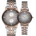 アルマニル腕時計ビジネス簡単簡単クウォーカップル表ファッションカジュアルポインタカップル時計ペア表AR 1721男AR 1725女