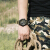 ジホップ(JEEP)腕時計牧馬人シリーズの超大型文字盤男性用防水軍表アウトドアスポーツクロップ多機能小三針カレンダーダブルムーブメントJP 15203