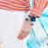 エリ詩Elixaスイス女史腕時計女性クウォーウオッチファッション簡単欧米女表カッコいいインクブルーE 096-L 374プレゼントブレスレット