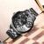 新商品発表Limira林慕腕時計アメリカ潮牌超大型文字盤腕時計男女双時区クウォーウオッチ迷彩腕時計50メートル防水LM 682-B.tank
