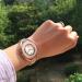 世界的ロラ.購入ワンダー的ルーキー腕時計(SWAROVSKI)時計バラ金ステンレス帯ファッション于·ツーパンパン優雅だ