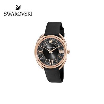 SWAAROVSKIスワロフスキーCrystalline Glam腕時計ブラック輝く彼女へのプレゼント5452452