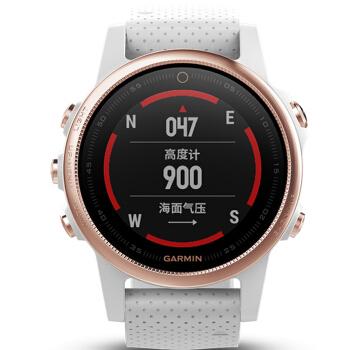 佳明(GARMIN)fenix 5 S耐時5 sバラ金GPS多機能登山ランニググ知能スポーツウオーター水泳屋外腕時計光学心拍知能飛行5 sバラゴールド