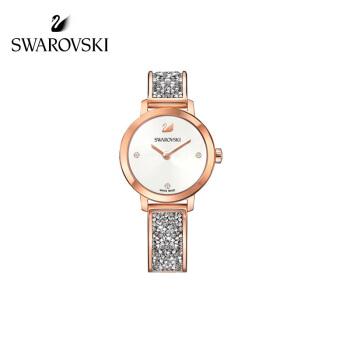 SWAROVKIスワロフスキー·ファンシー腕时计彼女へのプロシーザーはホワワイト·トロ·ゴス·ルド5376092