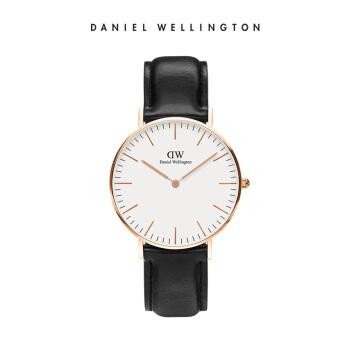 丹尼尔惠灵顿(DanielWellington)DW手表女36mm表盘皮带超薄クォーツ表0508DW(DW00100036)