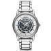 オールマイニ腕時計全自動機械男子腕時計透かしファッションビジネスマシン男子腕時計男性V 6006