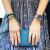 【オリジナルバンドを贈る】K 14(KLASSE 14)女性腕時計Skyスカイシリーズイタリアファッションインローグラデーションベルトクウォーム女子時計静谧深夜-SK 17 RG 003 W