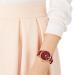 SWAAROVSKIスワロフスキー腕時計女性2018新型CRYSTALLINE HOURSシリーズの魅力赤5295380