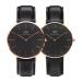 ダニエル・ウェリントン(DanielWellington)カップル腕時計ペアシンプル大方dw腕時計女性DW 001000027+DW 001000013