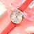 オールマイニ腕時計満天星女表シンプルファッションカジュアルクウォークウォッチ銀盤ベルトAR 1876
