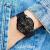 CK CalvinKleinの新型スイスck腕時計女史表情仲間表全世界联保K 3 M 2421めっき黒鋼帯男款