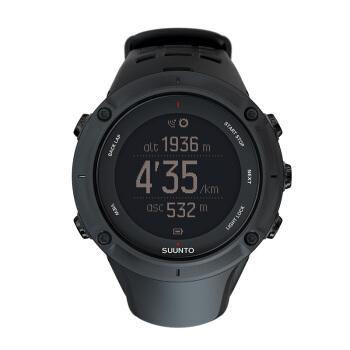 アンパン腕時計Ambit 3拓野3 PEAKアウトドアトップブラックSS 02077000
