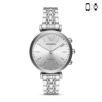 オールマイニ(Emporo Armmani)は、満天の星の腕時計ファッション欧米クウォークとインテリジェント女子時計京東自営クラシックファッション腕時計銀色鋼チェーンART 3018