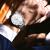 【好評すぎる】スイス海士爵機械男子時計都市新貴シリーズ腕時計男性機械表超薄型シンプルでスタイリッシュな大文字盤カジュアルベルト腕時計ミラノスチールベルトモデル-【新発売】