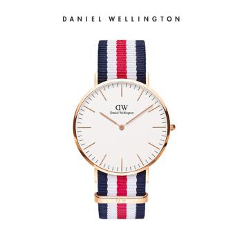 ダニエル・ウェルト(DanielWellington)DW腕時計男性用時計40 mm文字盤ナロバー極薄クウォーテック0102 DW(DW 0012)
