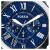 カセキ(Fossil)腕時計欧米ファッション潮流防水クウォー男性時計クラシック男性ファッション腕時計カジュアルビジネスパーソナリティブルー文字盤パルプベルト男性時計FS 5151