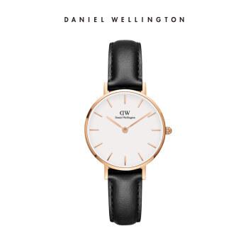 【DWフラッグシップショップ】Danielwellington dw腕時計女性28 mm革ベルトシンプルでスタイリッシュなゴールドのサイドウォッチDW 00100230
