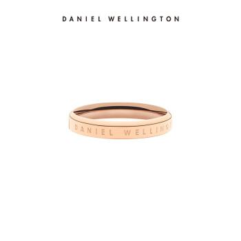 ダニエルウェリントンの新品のバラゴールドの指輪のアクセサリーです。男女の指輪のサイズ:14(中国サイズ)DW 0040019