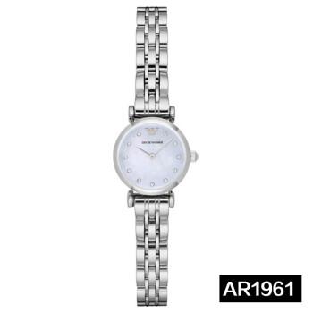 アルマニール腕時計レトロでクラシカルなファッションの女性時計百合新式カップル時計女性腕時計AR 1961スチールベルト
