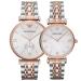 アルマテニ腕時計欧米鋼帯カレンダークウォーク腕時計ビジネス男性女性カップル腕時計ペアAR 1677+AR 1683