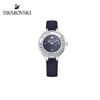 【ブランド公式直営】スワロフスキーLOVLY CRYSTALS MINI腕時計女性のデリケートでシンプルな腕時計ブラック5242898