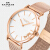 COACHココアチーPERRYペレシリーズのシンプルなミラノ編みチェーンファッション欧米クウォーツ腕時計カップル14503126